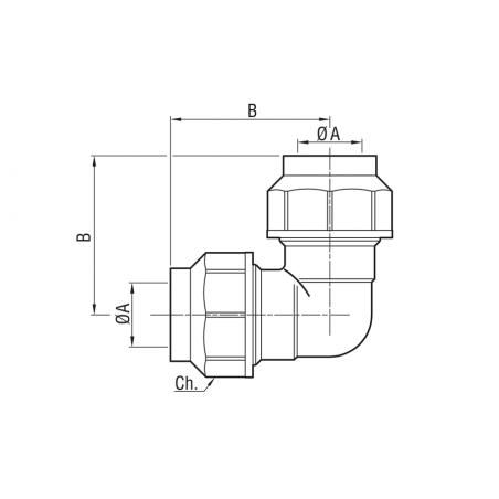 Barra filettata 1 metro cl.8.8 Zb DIN 976-1 - M27